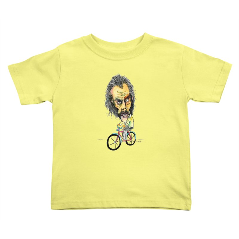 Nicks Wild Ride Kids Toddler T-Shirt by Bad Otis Link's Artist Shop