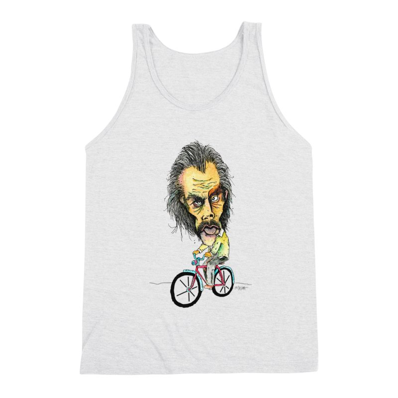 Nicks Wild Ride Men's Tank by Bad Otis Link's Artist Shop