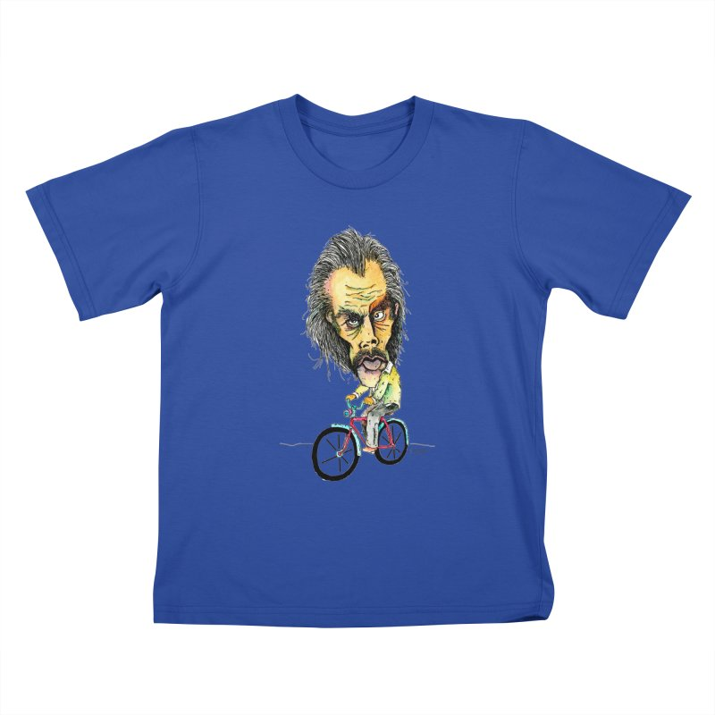 Nicks Wild Ride Kids T-Shirt by Bad Otis Link's Artist Shop