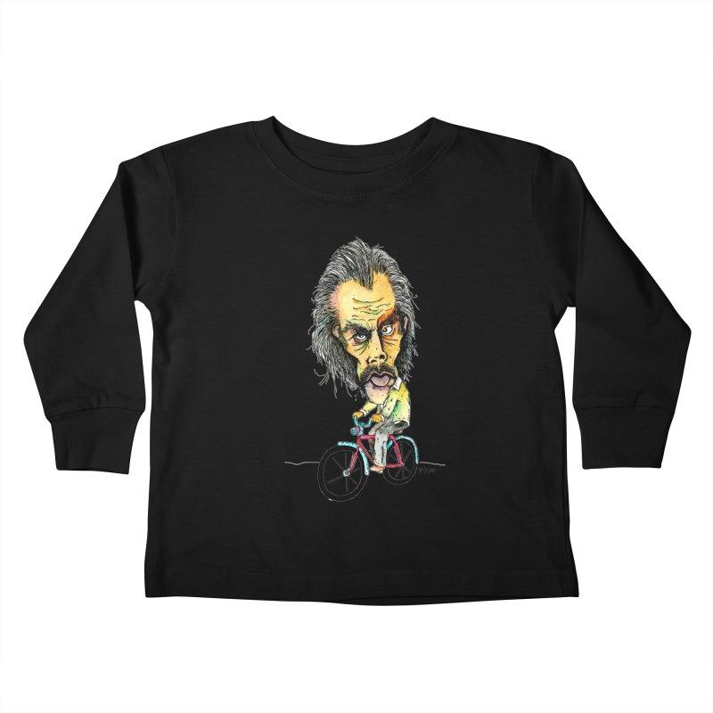 Nicks Wild Ride Kids Toddler Longsleeve T-Shirt by Bad Otis Link's Artist Shop