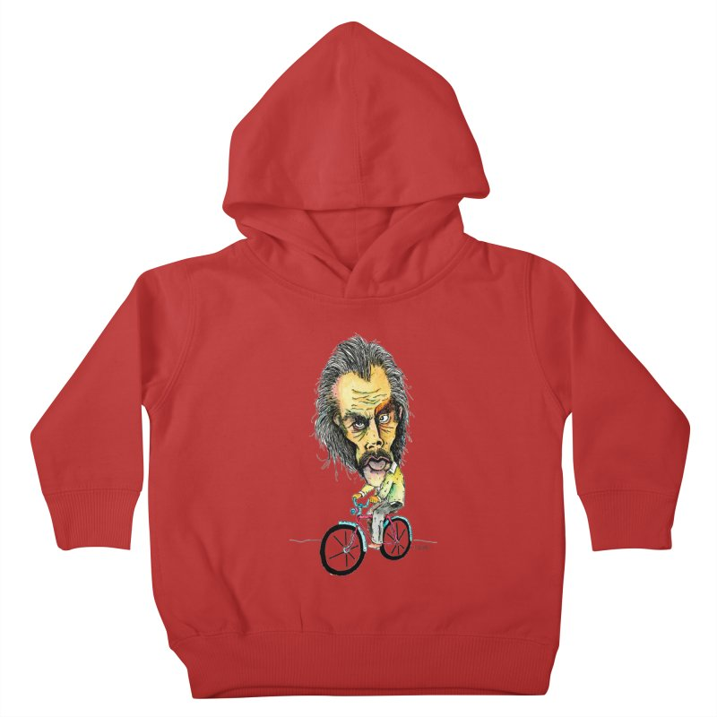 Nicks Wild Ride Kids Toddler Pullover Hoody by Bad Otis Link's Artist Shop