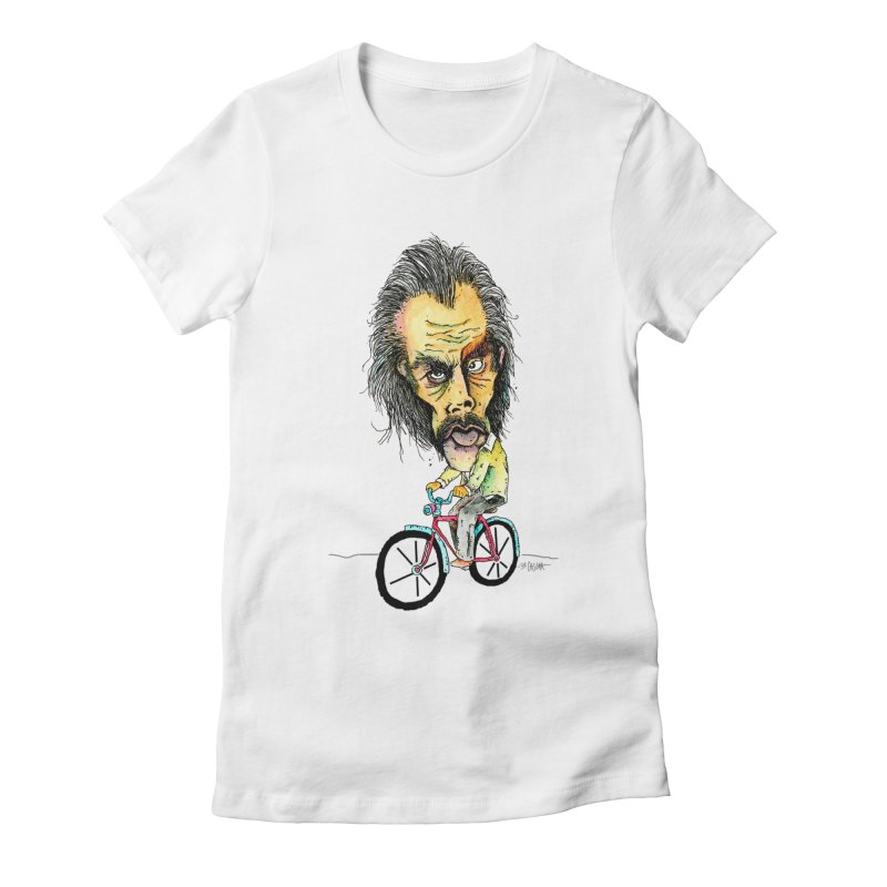 Nicks Wild Ride Women's T-Shirt by Bad Otis Link's Artist Shop