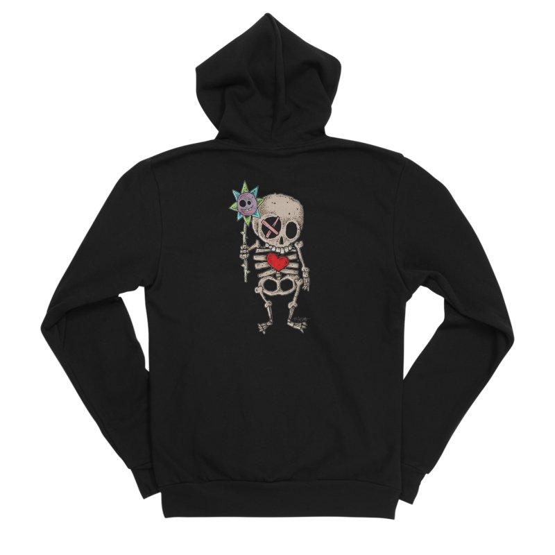 The Generous Dead Guy Men's Sponge Fleece Zip-Up Hoody by Bad Otis Link's Artist Shop