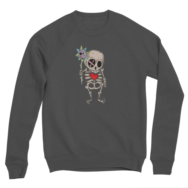 The Generous Dead Guy Women's Sponge Fleece Sweatshirt by Bad Otis Link's Artist Shop