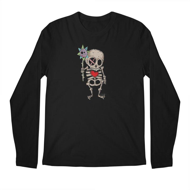The Generous Dead Guy Men's Regular Longsleeve T-Shirt by Bad Otis Link's Artist Shop