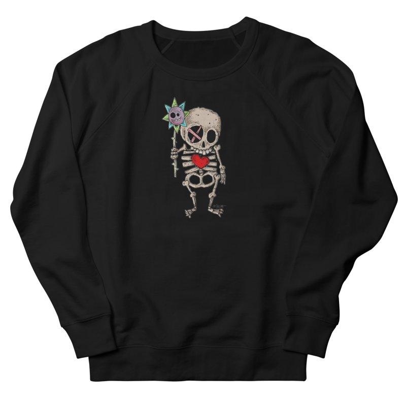 The Generous Dead Guy Women's French Terry Sweatshirt by Bad Otis Link's Artist Shop