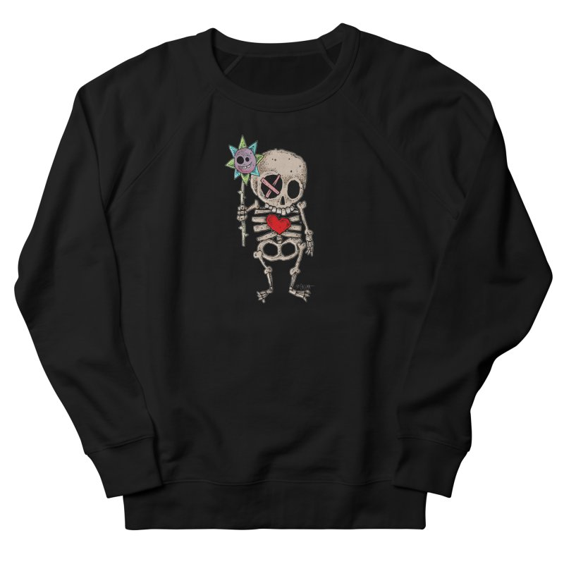 The Generous Dead Guy Men's French Terry Sweatshirt by Bad Otis Link's Artist Shop