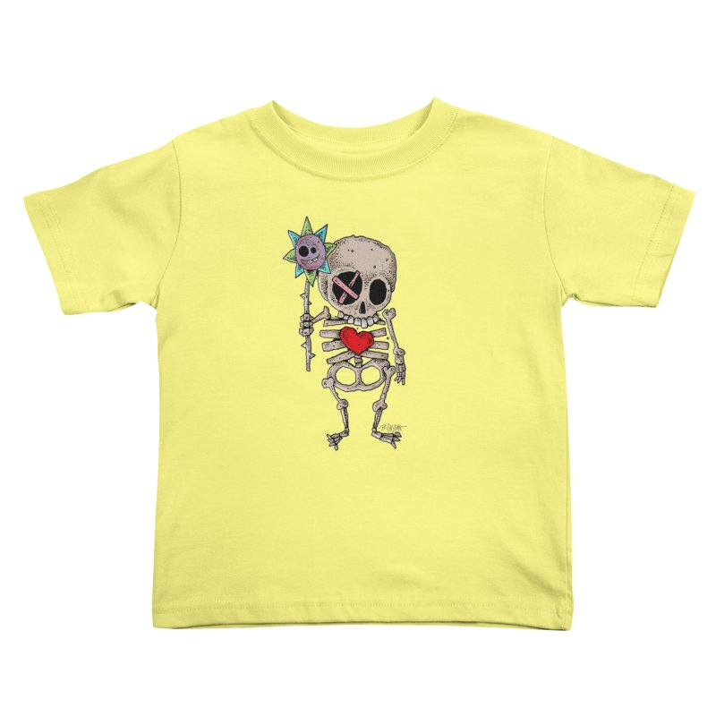 The Generous Dead Guy Kids Toddler T-Shirt by Bad Otis Link's Artist Shop