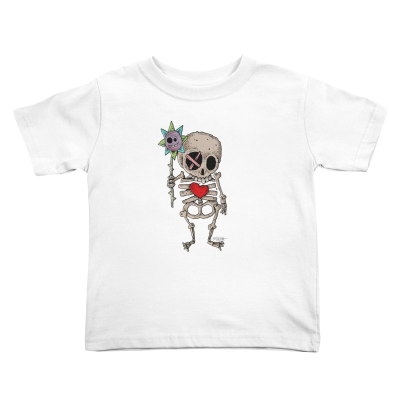 The Generous Dead Guy Kids Toddler T-Shirt by Bad Otis Link's Artist Shop