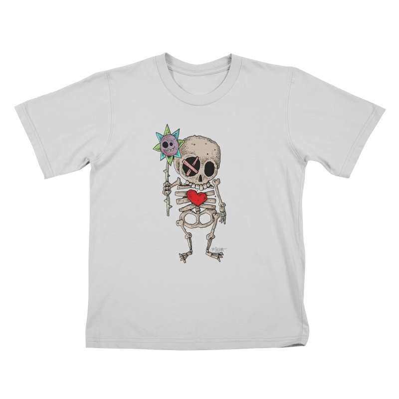 The Generous Dead Guy Kids T-Shirt by Bad Otis Link's Artist Shop
