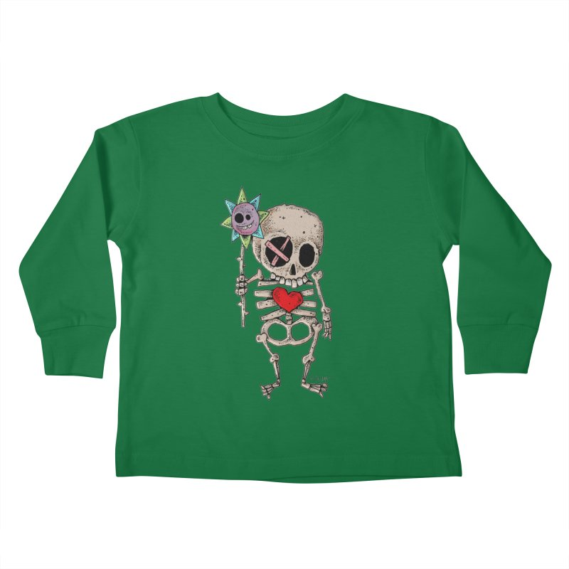 The Generous Dead Guy Kids Toddler Longsleeve T-Shirt by Bad Otis Link's Artist Shop