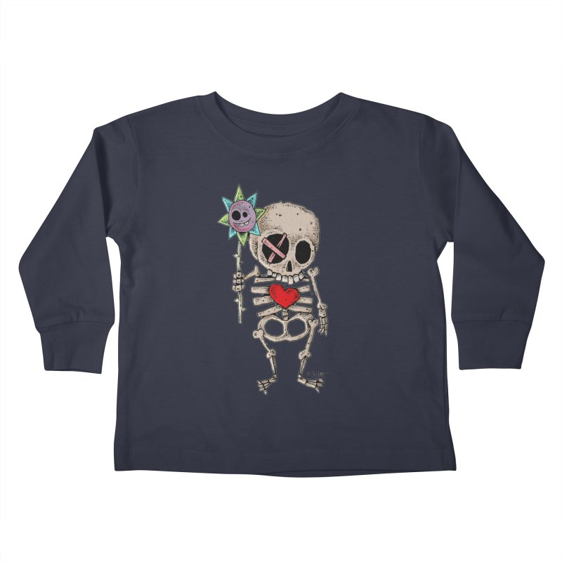 The Generous Dead Guy Kids Toddler Longsleeve T-Shirt by Bad Otis Link's Artist Shop