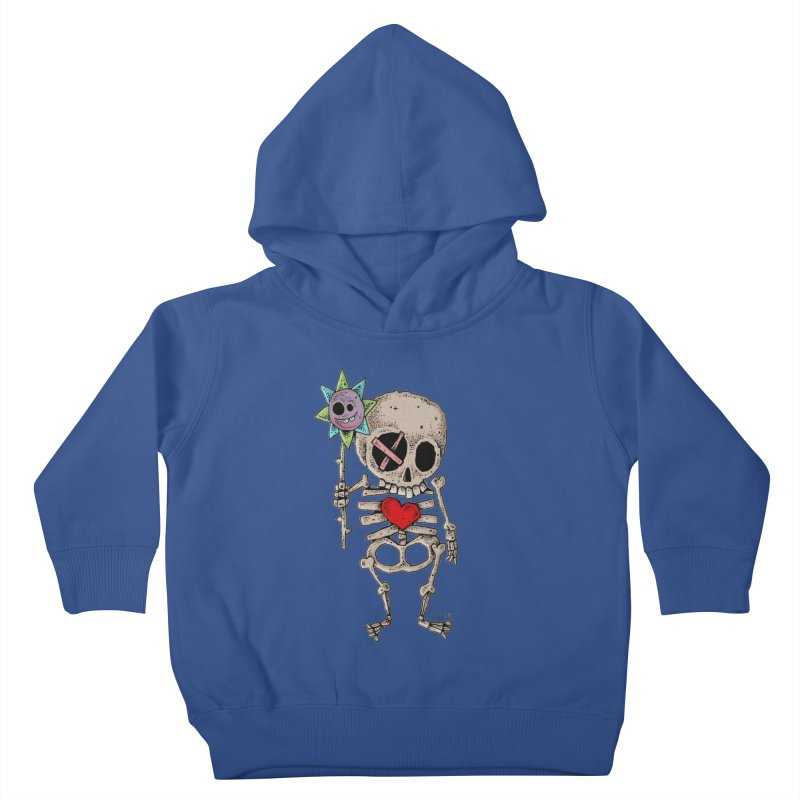 The Generous Dead Guy Kids Toddler Pullover Hoody by Bad Otis Link's Artist Shop