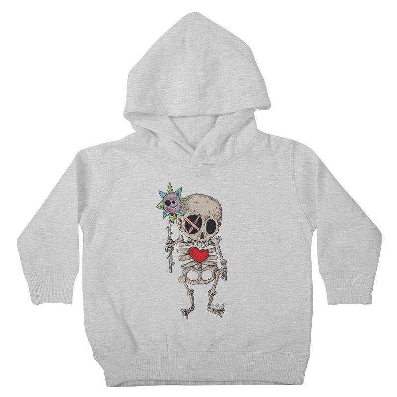 The Generous Dead Guy Kids Toddler Pullover Hoody by Bad Otis Link's Artist Shop