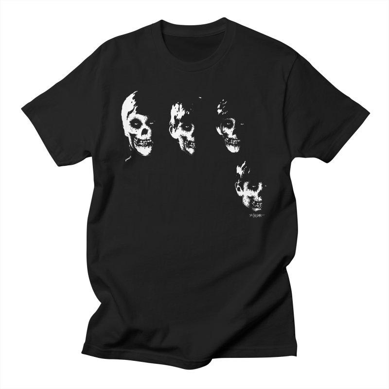 Crimson 4 Men's T-Shirt by Bad Otis Link's Artist Shop