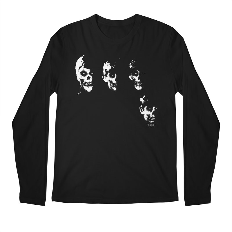 Crimson 4 Men's Longsleeve T-Shirt by Bad Otis Link's Artist Shop