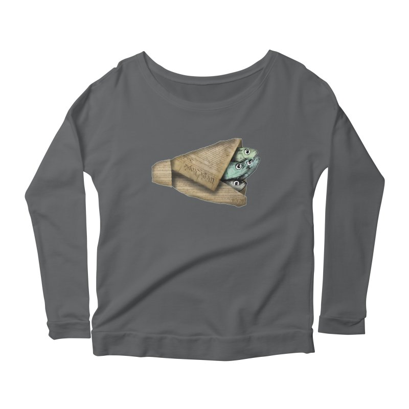Dead fish wrapped in the constitution Women's Longsleeve T-Shirt by Bad Otis Link's Artist Shop