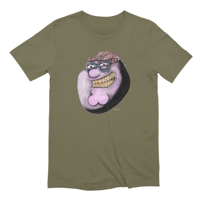 Pete. Men's Extra Soft T-Shirt by Bad Otis Link's Artist Shop