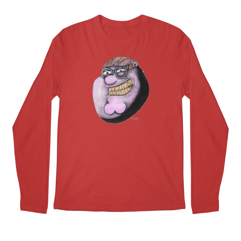 Pete. Men's Regular Longsleeve T-Shirt by Bad Otis Link's Artist Shop