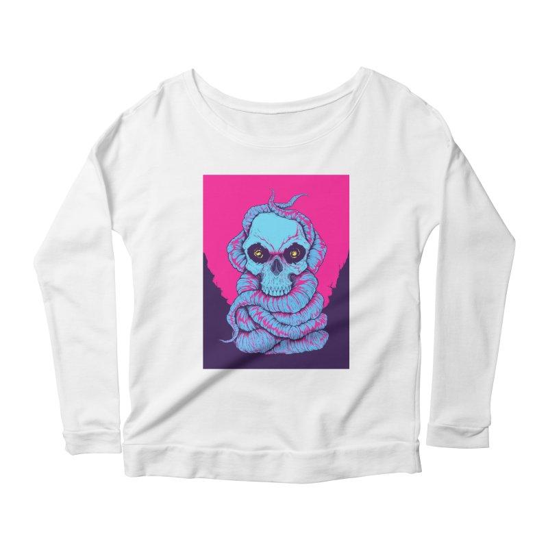 Skull Variations 2018.1 Women's Longsleeve T-Shirt by Bad Robot Brain Shoppe