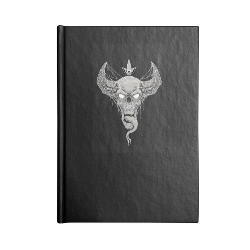 Waking the Daemon Accessories Notebook by Bad Robot Brain Shoppe