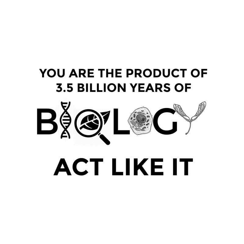 Biology Evolution 2 by Bagayogo Tees