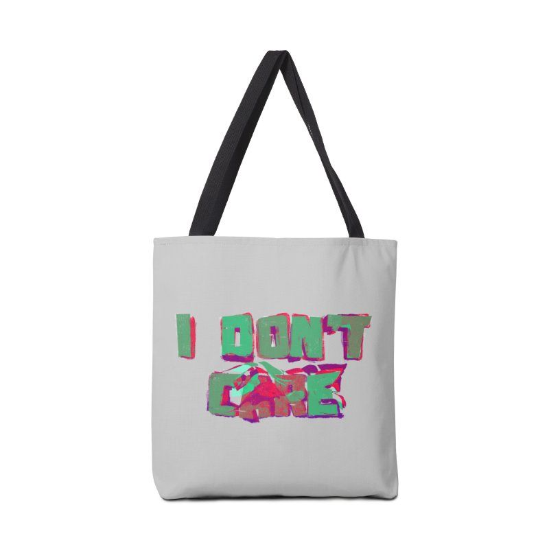 I Don't Care Accessories Bag by Bagimation