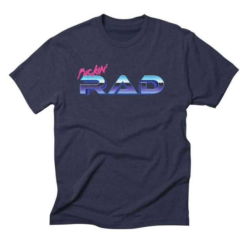 Rad Men's Triblend T-Shirt by Bagimation