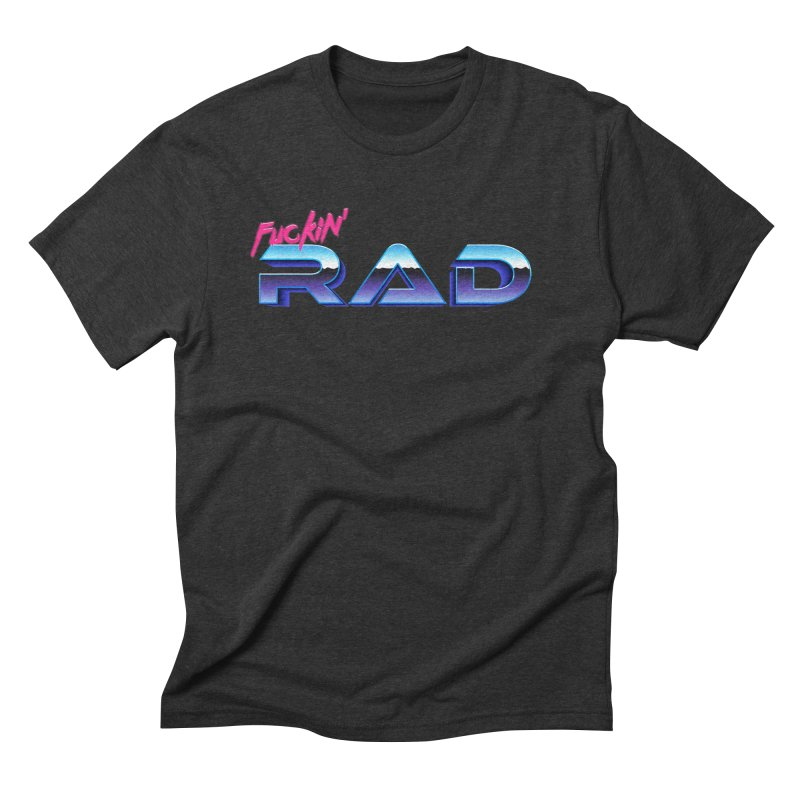 Rad Men's Triblend T-Shirt by Bagimation