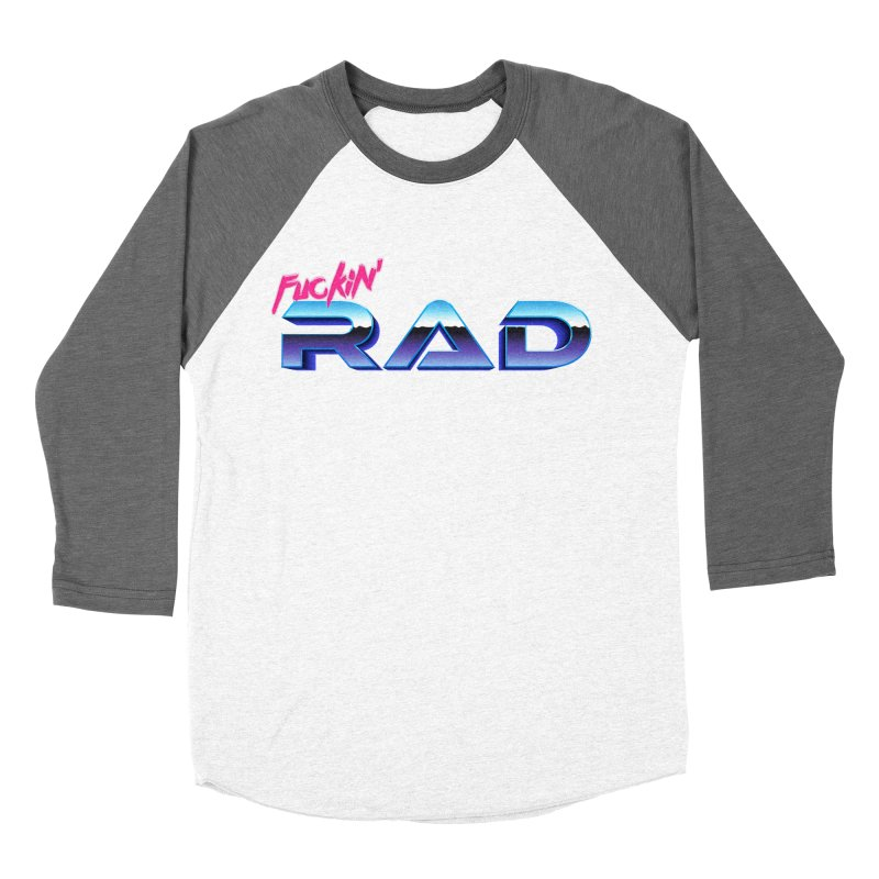 Rad Women's Baseball Triblend T-Shirt by Bagimation