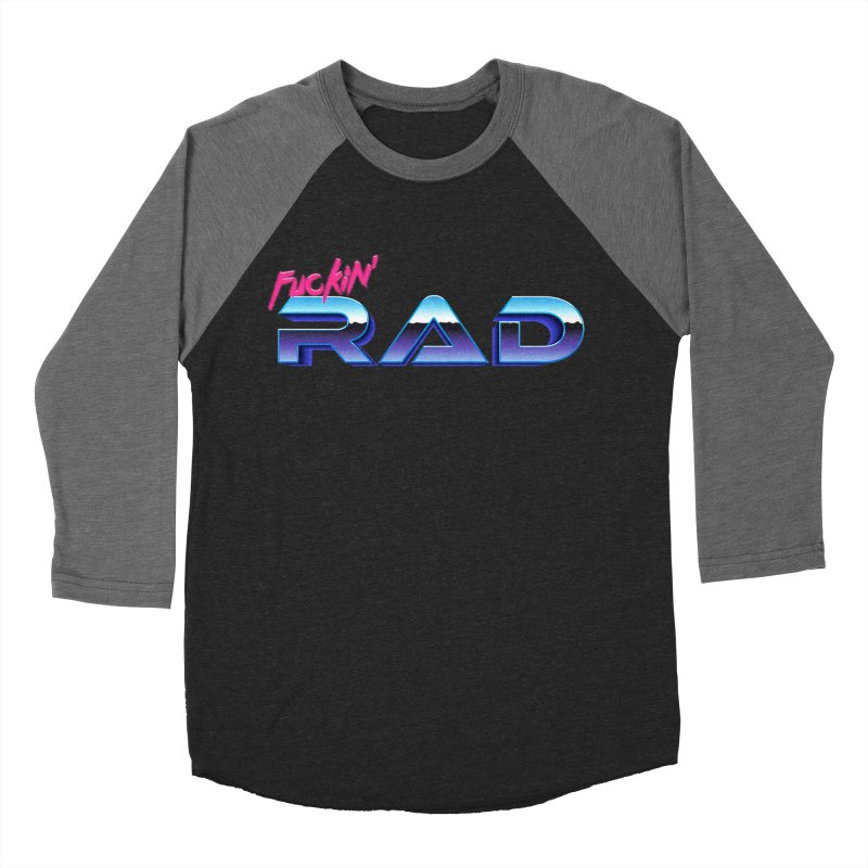 Rad Women's Baseball Triblend T-Shirt by Bagimation