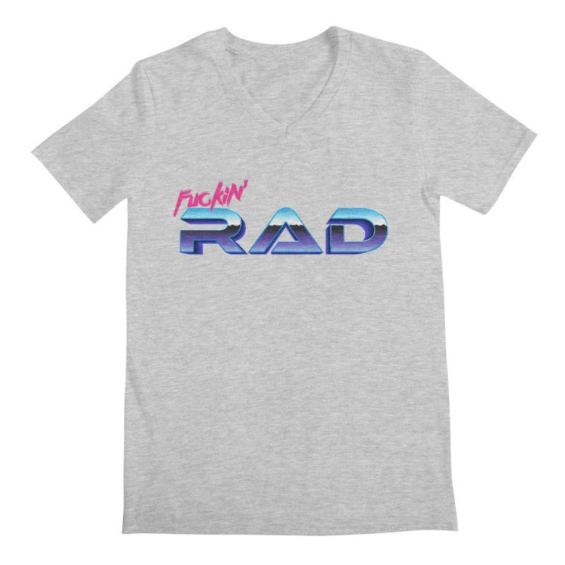 Rad Men's V-Neck by Bagimation