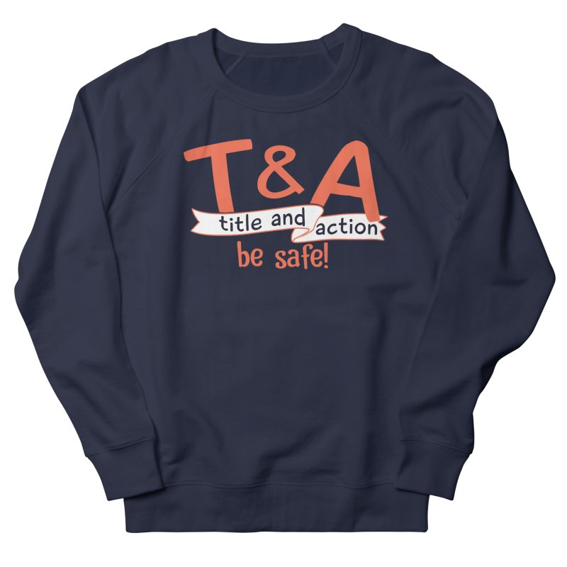 Title and Action Men's Sweatshirt by Bagimation