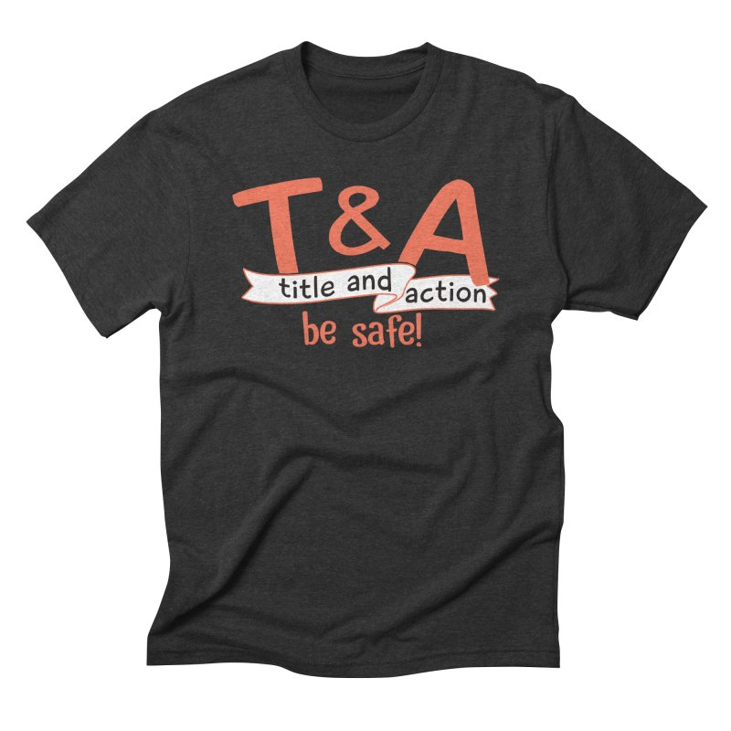Title and Action Men's Triblend T-Shirt by Bagimation