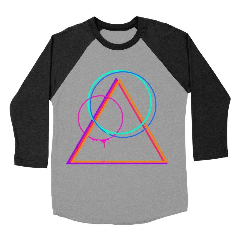 Moonscape Men's Baseball Triblend T-Shirt by Bagimation