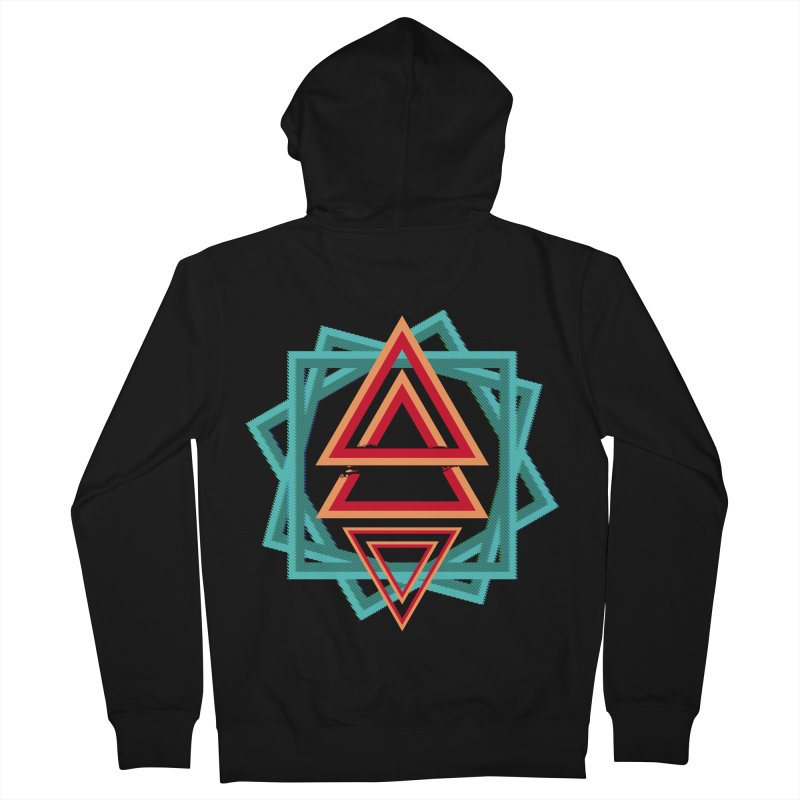 Gravity Shift Men's Zip-Up Hoody by Bagimation