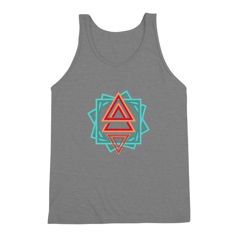 Gravity Shift Men's Triblend Tank by Bagimation