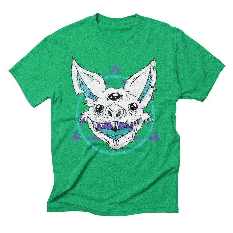Bat Men's Triblend T-shirt by Bagimation
