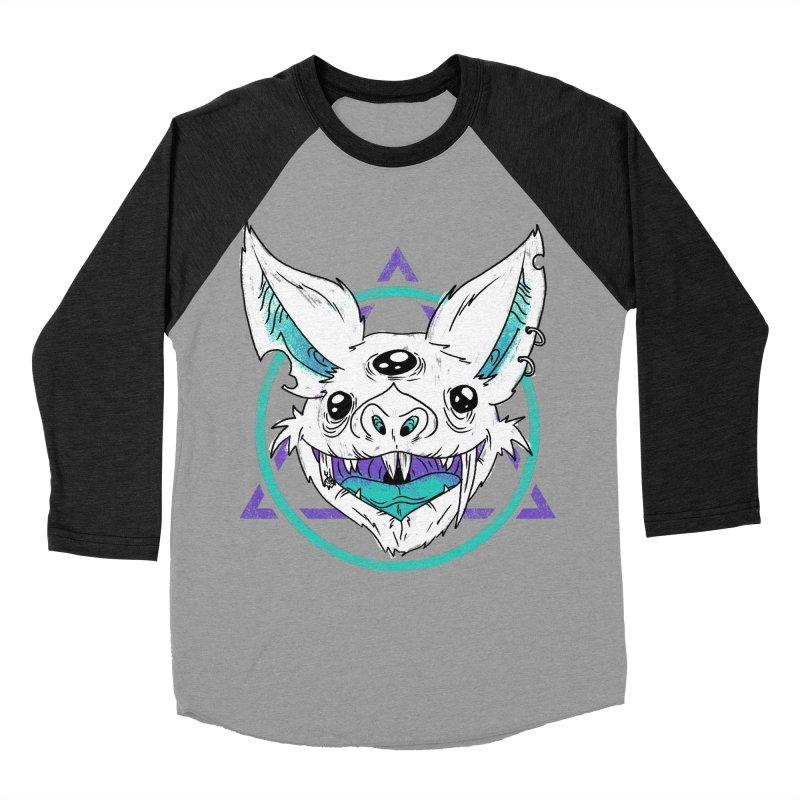 Bat Women's Baseball Triblend T-Shirt by Bagimation