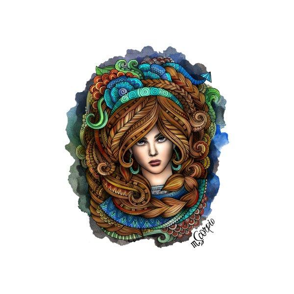 image for SCORPIO Zodiac Ethnic Girl