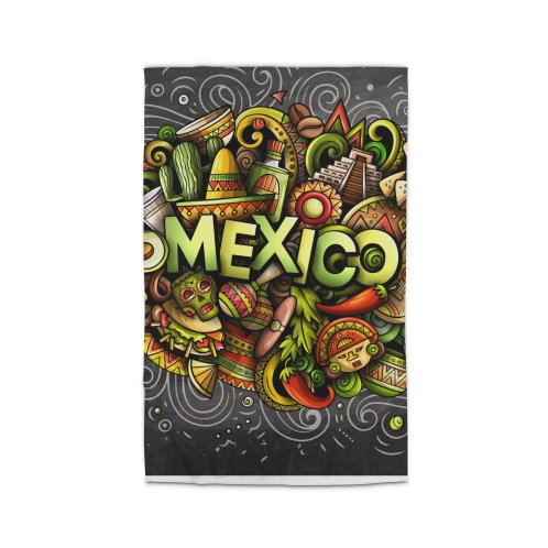 image for MEXICO Cartoon Illustration