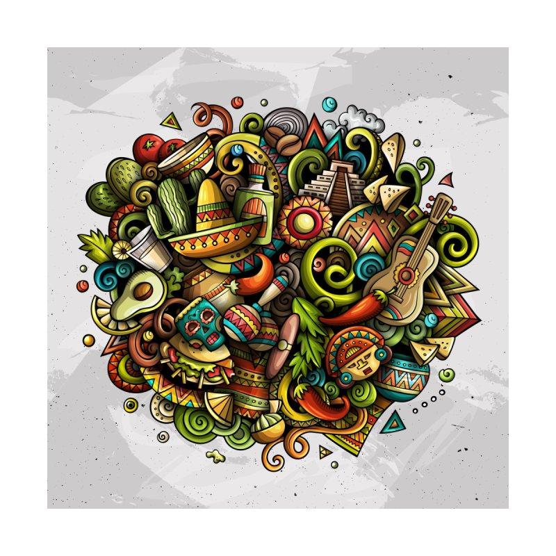 Cartoon MEXICO Design Kids Baby Zip-Up Hoody by Balabolka's Shop