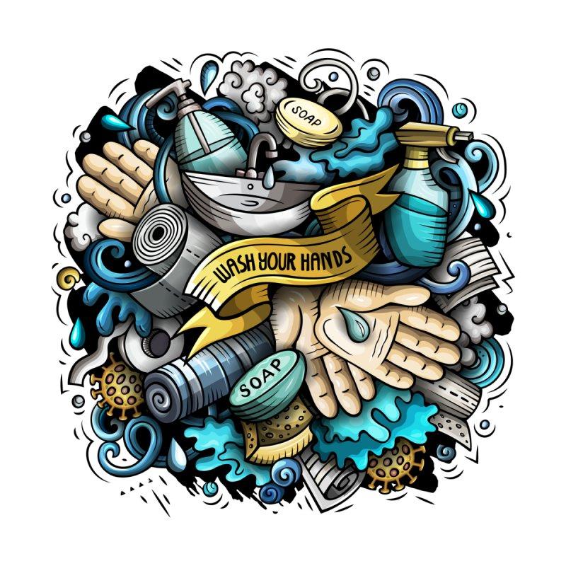 Wash Your Hands Accessories Mug by Balabolka's Shop