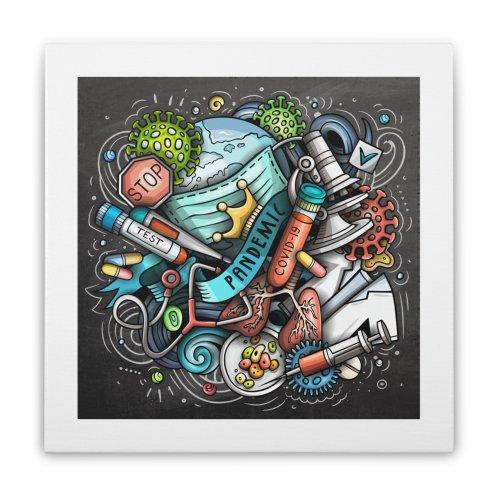 image for Pandemic Cartoon Illustration