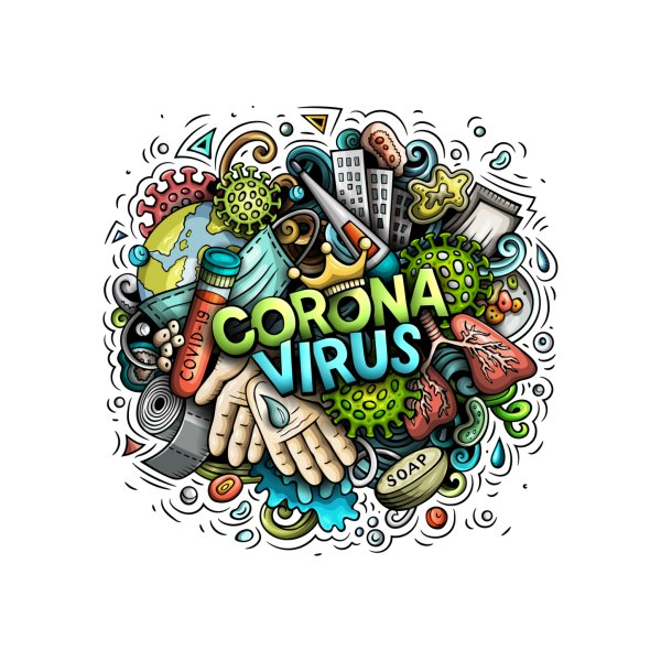 image for Coronavirus cartoon illustration