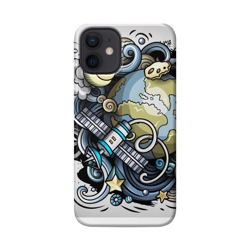 Space Cartoon Accessories Phone Case by Balabolka's Shop