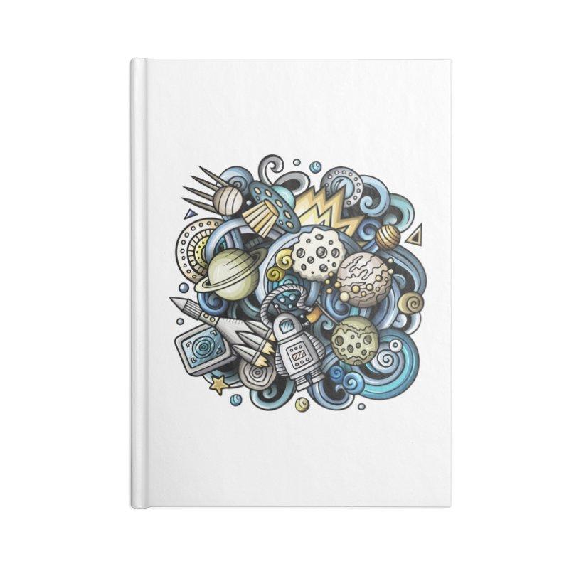Space Cartoon Accessories Notebook by Balabolka's Shop