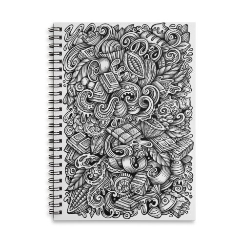 image for Chocolate graphics doodle
