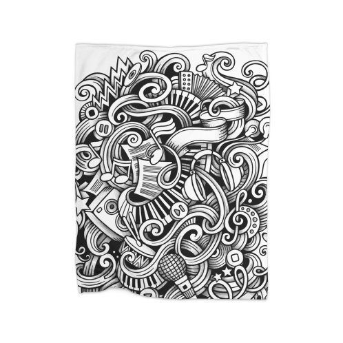 image for Music graphics doodle