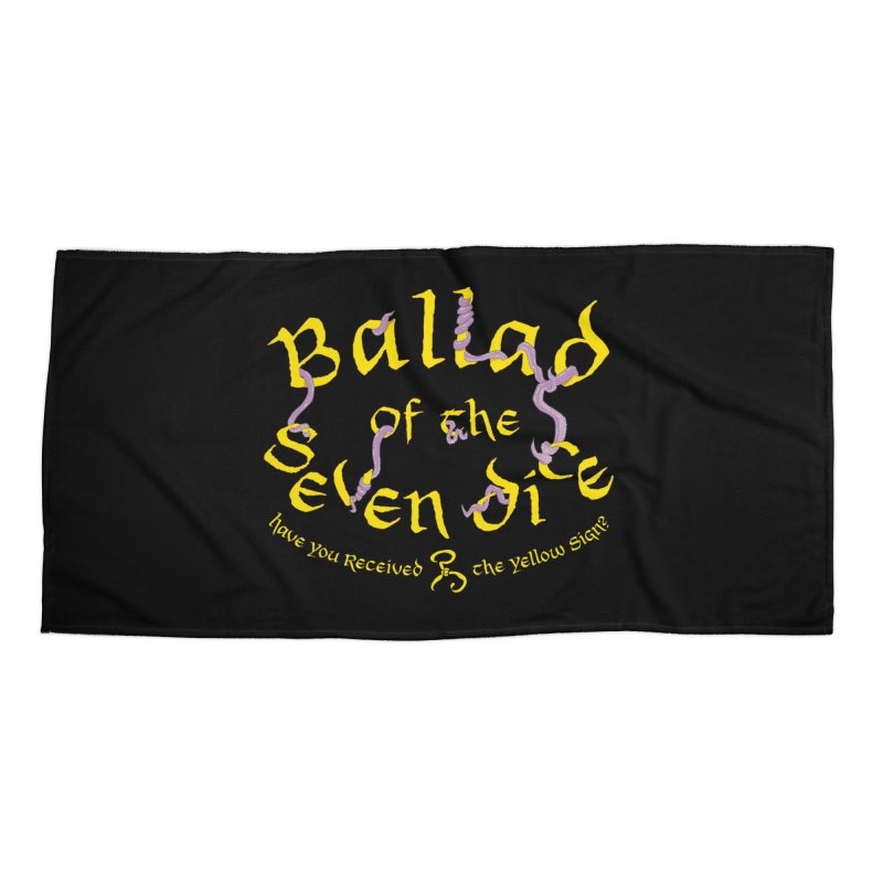 Ballad Tentacle Shirt Accessories Beach Towel by Ballad of the Seven Dice's Artist Shop